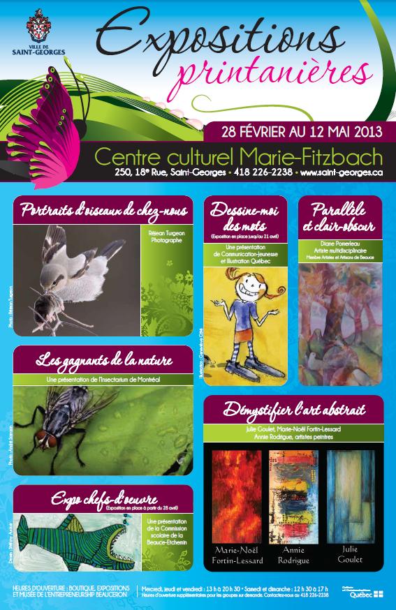Lancement des expositions printanières