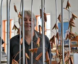 Claude-Félix Pomerleau a cultivé un «Jardin de métal» au Moulin La Lorraine