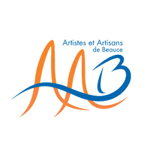 Logo AAB orange et bleu