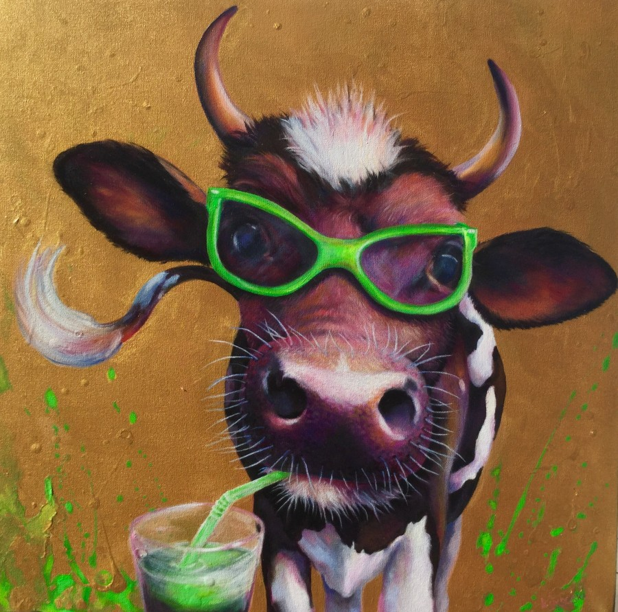 green-cow